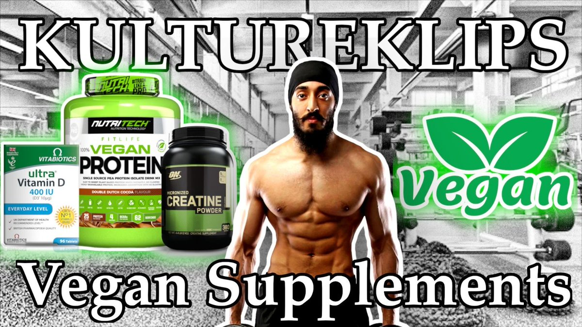 Azad Singh on Supplements Vegans Should Take!   Klip taken from KultureKast #4 with Azad Singh!   Link in Bio!  Enjoy & don't forget to LIKE, COMMENT & SUBSCRIBE!   #kulturekast #podcast #clips #fitness #sikh #sikhfitness #sikhmuscle #vegan #fitfam #gym #punjabi https://t.co/KZ3upjTmqF