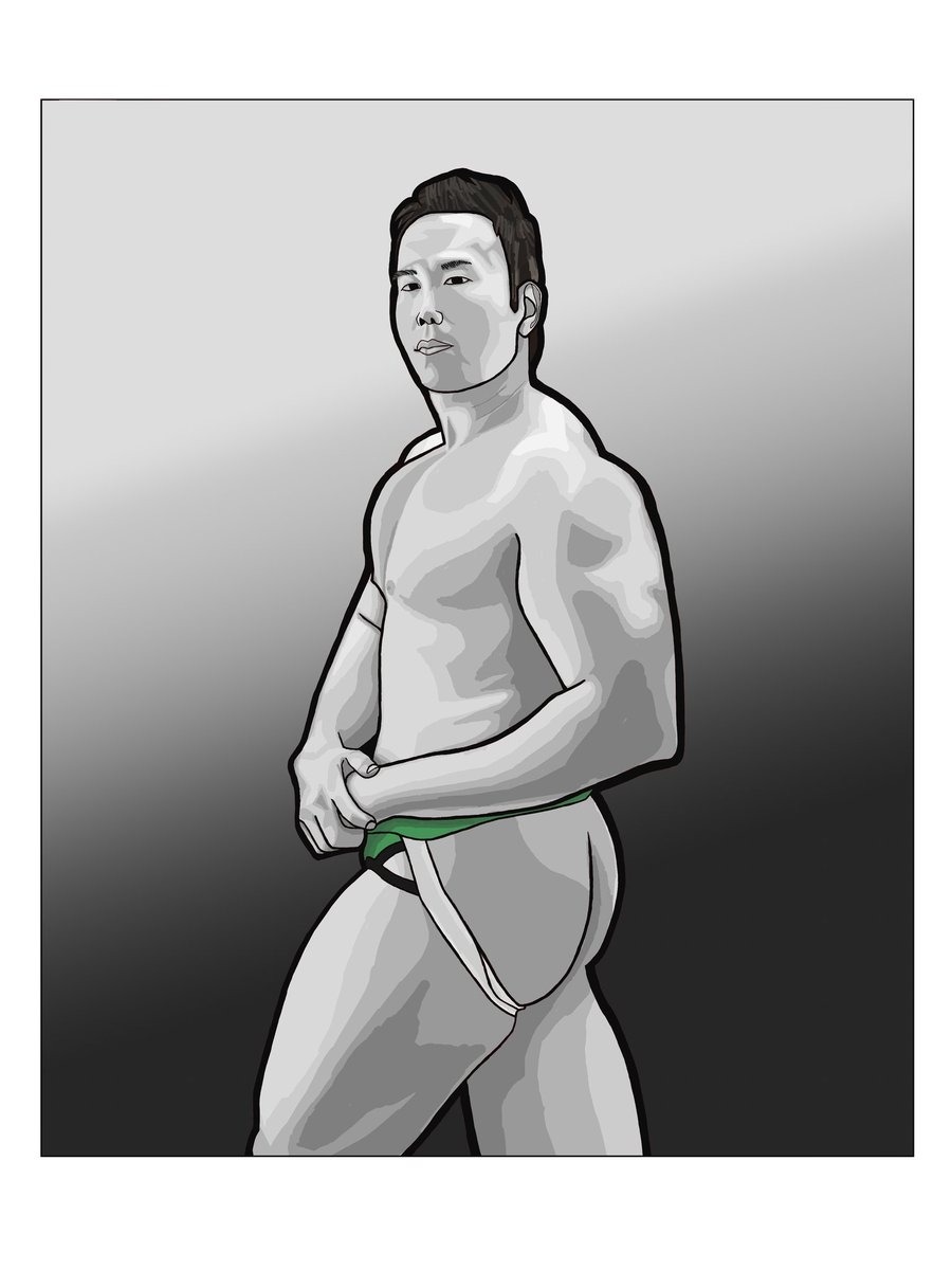 Hey! Another day, another drawing!  Follow my other acc. All info in bio. #digitalart #art #artoftheday #blackandwhiteart #clipstudiopaint #commission #posing #gayart #queerart #shading #muscleart #underwear #fitness #jocks https://t.co/lZtPw4L8MF
