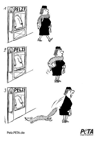 Geschenk aus Loriots Nachlass: PETA veröffentlicht Zeichnung gegen Pelz | Appell an Verbraucher https://t.co/3rEZywrtdV #vegan #veganismus https://t.co/yGvGJ15zFf