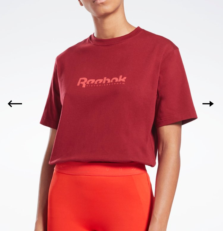 Love the 4th drop of the #ReebokXVictoriaBeckham collab! The burgundy red is absolutely 🔥 and I'm a tart for a roll neck collar! 😍🥰  Bye bye money! @victoriabeckham @Reebok