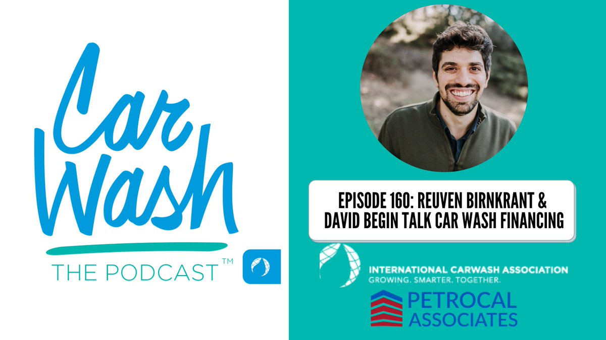 Thank you @CarWashDavid & @CarWashOrg for having us on the Podcast! Check out Episode 160 as our CEO Reuven Birnkrant shares his insight and expertise in all things related to car wash finance. We're here for you to discuss your next carwash project! https://t.co/DE32kcVuJa https://t.co/LBG7L4XeDD