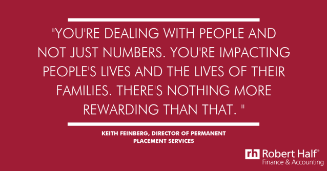 Interested in a rewarding career that still utilizes your finance and accounting background? Learn how Keith Feinberg found success and fulfillment working as a recruiter at Robert Half and how you can do the same. @roberthalf https://t.co/TQ9T84WFxj https://t.co/HMmV63DeB5