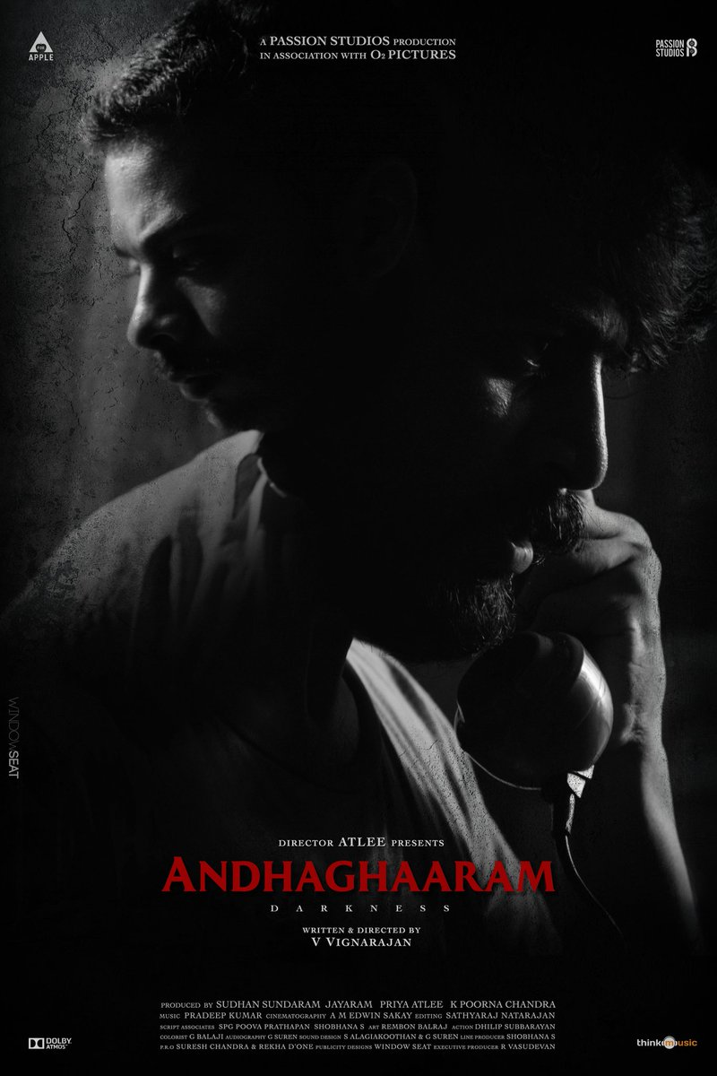 """After a long wait,not just witnessed another of 13B kind,but a 3 hr(absurd for thrillers tho)inquisitive NonLinear Storytelling from a debutant @vvignarajan is Mindblowing!!  """"I've known nothing,but Darkness""""🔥  #Andhaghaaram #AndhaghaaramReview"""