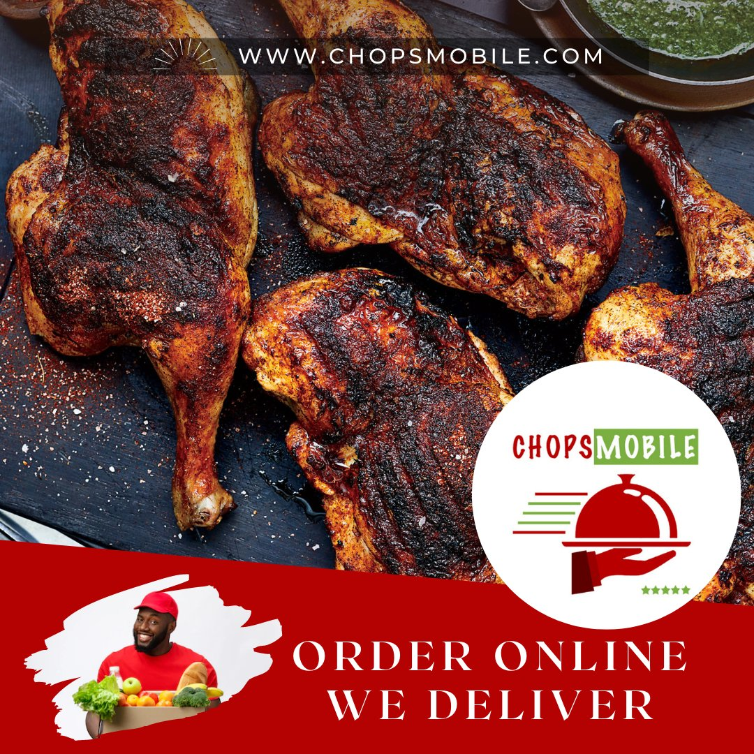 CHOPSMOBILE is the fastest and efficient delivery service that carries food & grocery orders online in Nigeria... https://t.co/Fxy01E2kw0 #AbujaTwitterCommunity #sandwich #groceryshopping #delivery #kebab #pizza #nigerianfood #breakfast #lunch #nigeria #eatclean #fashion https://t.co/91nKqTlHGb