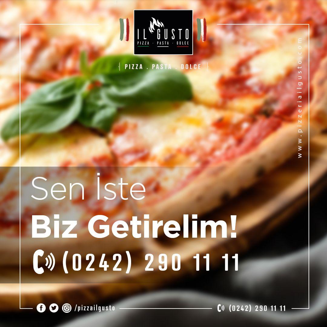 Canın 🍕 çektiyse, sen iste biz getirelim 😊 Sipariş ☎️: 0242 290 11 11 ⠀⠀⠀⠀⠀⠀⠀ .⠀⠀⠀⠀⠀⠀ .⠀⠀⠀⠀⠀⠀ #ilgusto #pizzailgusto #pizza🍕#pizza #pizarra #pizzatime #antalya https://t.co/dqm73EQPb4