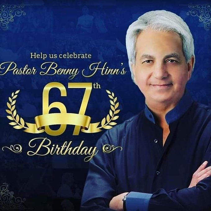I won\t forget to say Happy Birthday to the great man of God, God\s General, Pastor Benny Hinn.