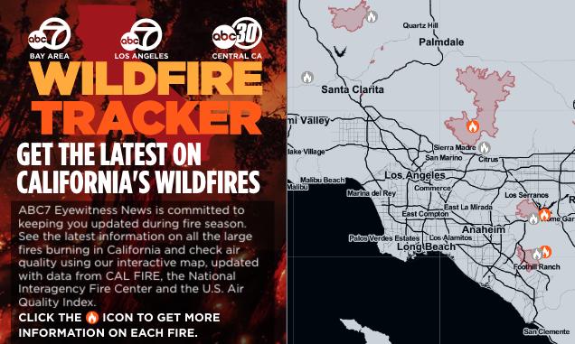Here's every #wildfire burning across Southern #California today https://t.co/mTbpkOBMve https://t.co/KZJUvxErOL