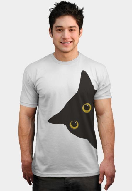 Black Cat @designbyhumans by @Boby_Berto https://t.co/6hCweqerB1 #blackcat #black #cat #peeking #peek #funny #animal #tshirt #tshirtdesign #tshirts #clothing #animals #pets https://t.co/ZvY0HHxiCW