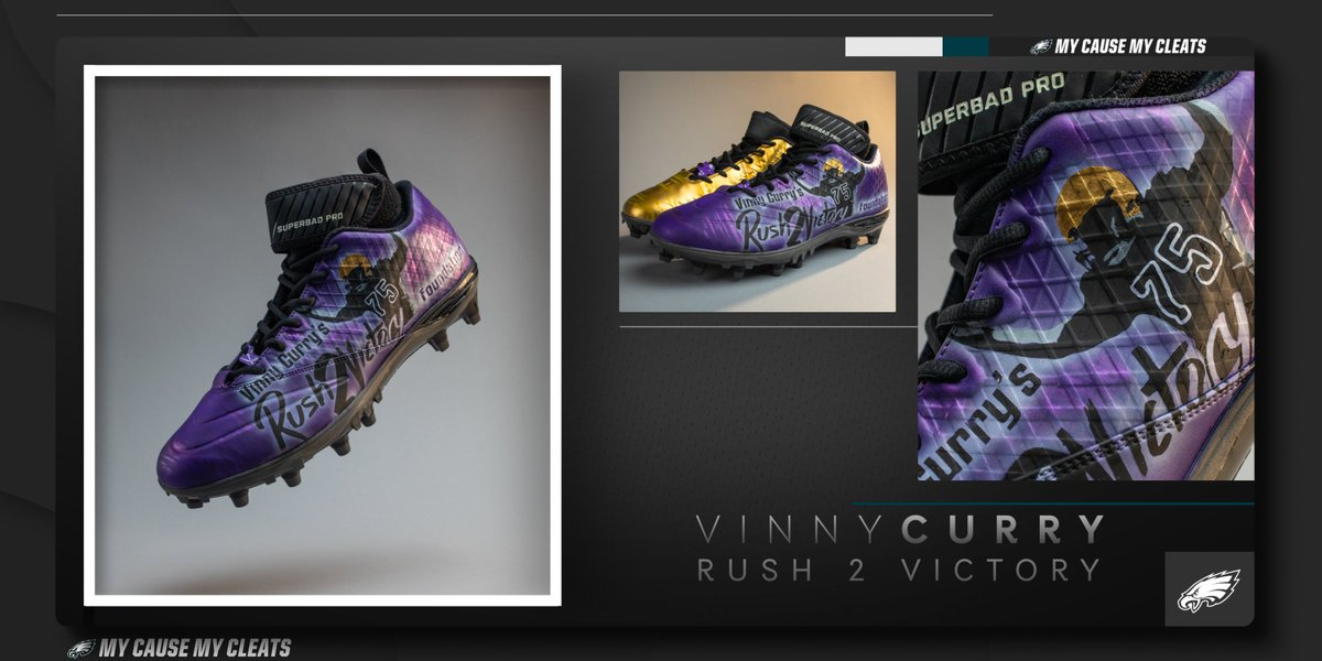 This week, @MrGetFlee99 is honoring his late brother while raising awareness for Rush 2 Victory, his foundation that provides economically-challenged students with a voice of motivation, empowerment, and encouragement.  #MyCauseMyCleats