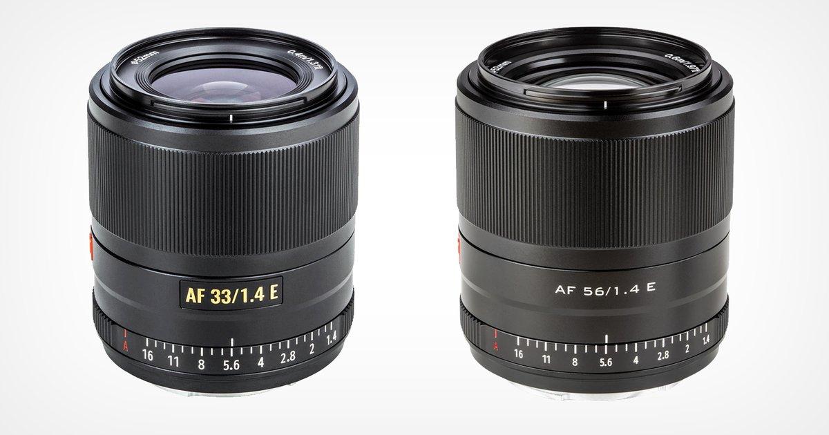 Viltrox 33mm and 56mm f/1.4 APS-C E-Mount Lenses Now Available ◌ https://t.co/NRPfk5c21F   ➥ Jaron Schneider 🗞️ #Photography 📷 ◌ Good read👍🏻 https://t.co/D71lrtv6z5