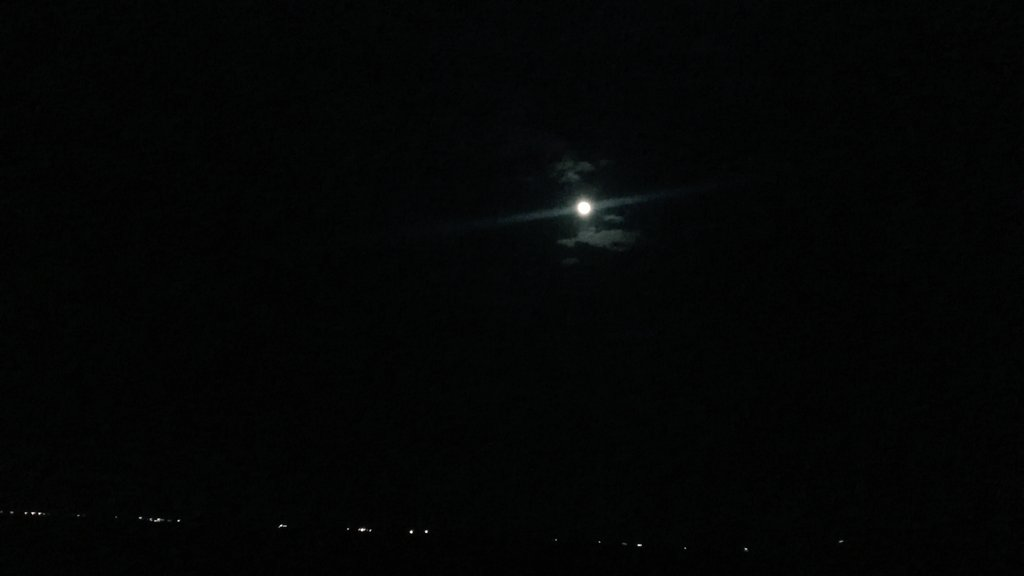 Sometimes the fault isn't ourselves, the fault is found amid our stars (fate) . #beautiful #moon #writeoutloud 📸 https://t.co/u4RMQaWR62