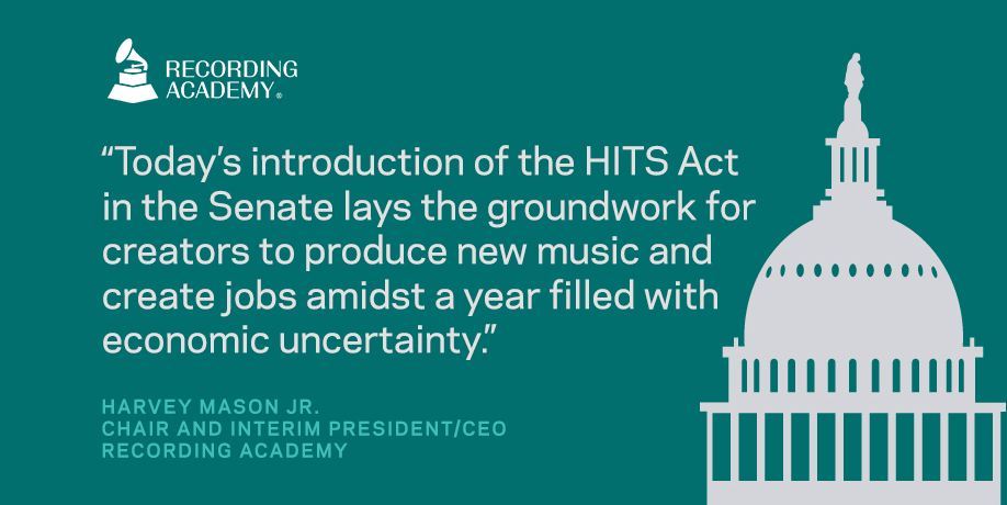 Today, @SenFeinstein and Senator @MarshaBlackburn introduced the bipartisan Help Independent Tracks Succeed Act. #HITSAct