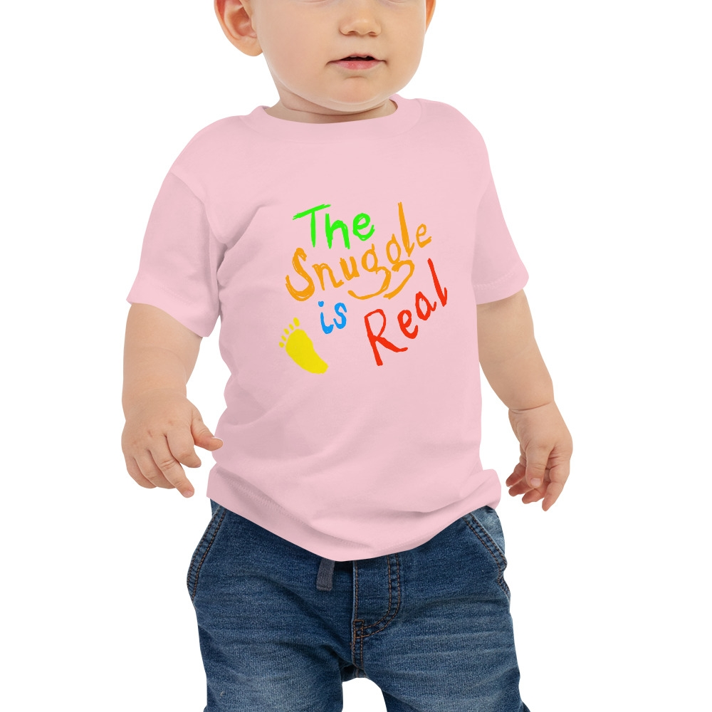 The Snuggle is real - funny - Baby Jersey Short Sleeve Tee #love #beautiful #cute #picoftheday #follow #followme #style #design #lifestyle #fashion #trending #mustbuy #shop #shopping #like4like #followforfollow https://t.co/CplMifByQK