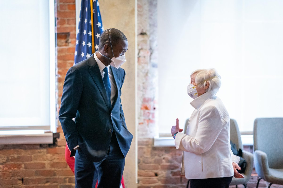 I am looking forward to working with @JanetYellen to build an economy that works for everyone. https://t.co/rRYliGPogb