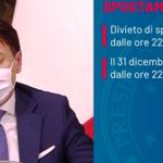 Image for the Tweet beginning: Conte presenta il Dpcm 'ammazza'