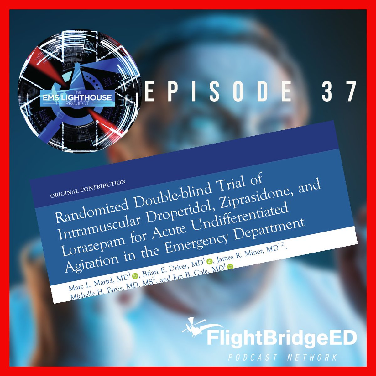 You have an agitated patient whom you need to sedate. Ketamine is on back order. Do you use midazolam, ziprasodone, or droperidol?  If you know me, you know my answer but join us for Episode 37 where we discuss a paper addressing just this issue.   https://t.co/lH0Y24Ykxs https://t.co/ELMFVSq0t8