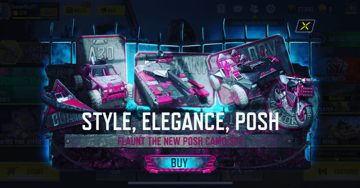 Style Elegance Posh #callofduty #cod #codmobile #game #gamplay #gamers #games #GamerKuri https://t.co/KhGGCboovb