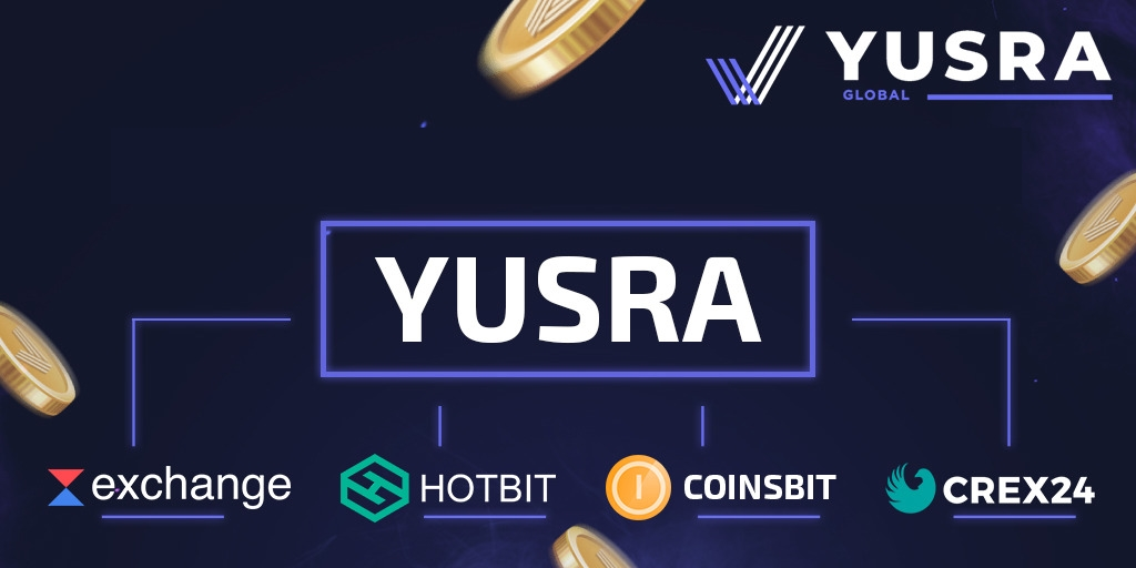 Where to buy a #YUSRA token?  The answer is simple - on 4 #crypto #exchanges!  1 Hotbit https://t.co/F2KgDzHr9U https://t.co/MNnsjLp9eQ  2 Crex24 https://t.co/CXhOX6dvl0 https://t.co/bgI3ucdUJh  2 Coinsbit  4 Waves Exchange https://t.co/HQ4l9QmREd