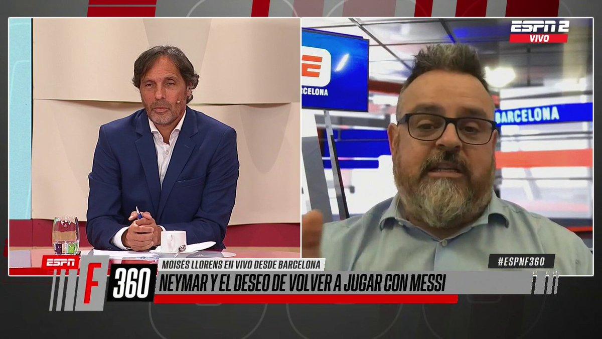#ESPNF360 📺 | ESPN 2 ¿MESSI AL PSG?  Tras los dichos de Neymar sobre Lionel, @moillorens cuenta las repercusiones que trajo en Barcelona y una posible ida al club francés. Y sí, sería un poco complicado... 🇫🇷 https://t.co/EXPkQZYtSp