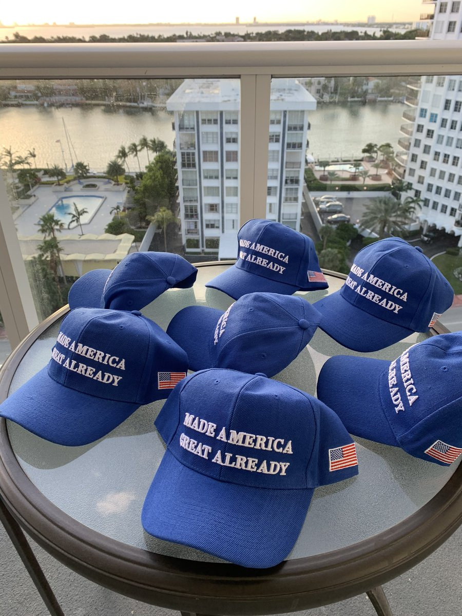 "You ""Made America Great Already"" simply by firing and evicting Trump from our White House.  Get your BIDEN ""BLUE"" MAGA HAT now. Biden ""Made America Great Already"" because he is sending Trump to prison.  Hats 🧢 are on Amazon. 🇺🇸🧢🇺🇸#45TransitionToPrison @BidenHarrisHats"