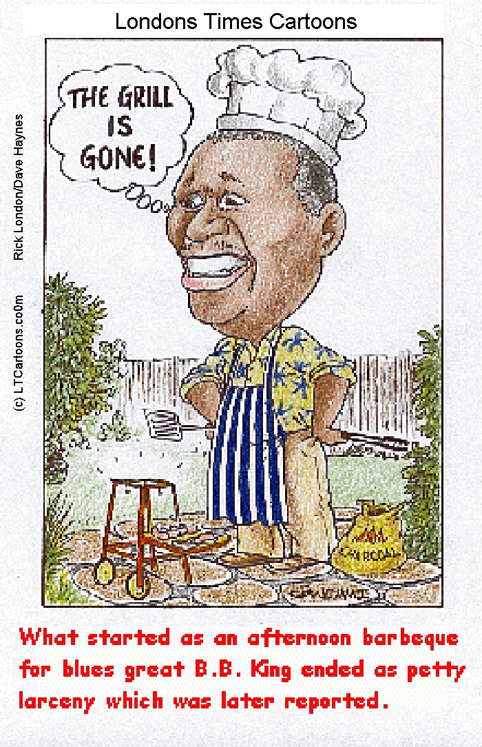 The Grill Is Gone by @LTCartoons #bbking #blues #theblues #rhythmandblues #mississippi #mississippidelta #thedelta #music #thethrillisgone #humor #comics #cartoons #funny #LTCartoons https://t.co/9AbbjHNM3k