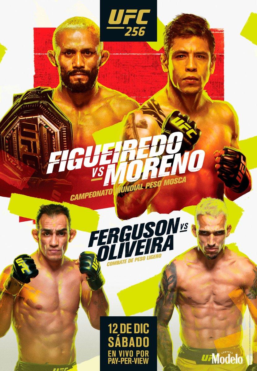 #UFC256 🇧🇷 @Daico_Deiveson VS @theassassinbaby  🇲🇽 Poster Oficial 😍