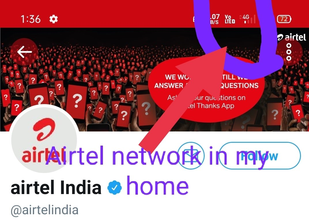 @airtelindia Sir this is u network midnight of the day mobile number 9110387103 area Indira Gandhi Nagar near apsrtc busstand kurnool 518003 try to solve the problems https://t.co/heFrBvomwt