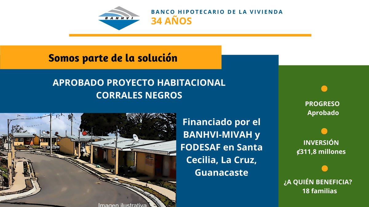 18 familias tendrán vivienda digna gracias al financiamiento aprobado por el #BANHVI #MIVAH #FODESAF en el proyecto Corrales Negros, en Santa Cecilia de La Cruz, Guanacaste. Generamos #Empleo #ReactivacionEconomica #SomosSolucion #Construccion #Salud https://t.co/bpZWYkOheI