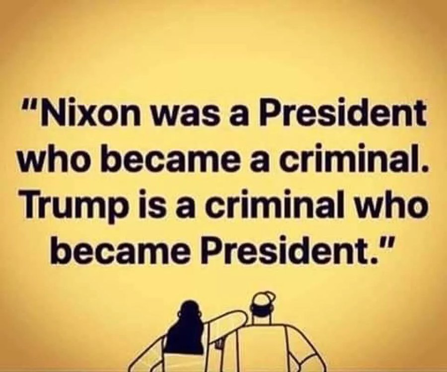 People that did 'nothing wrong' do not need pardons. #TrumpIsACriminal #NoPardonForTrump #DonTheCon https://t.co/Iyle1H5aHb