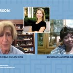 Image for the Tweet beginning: #UNCHussman alum Karen Parker '65