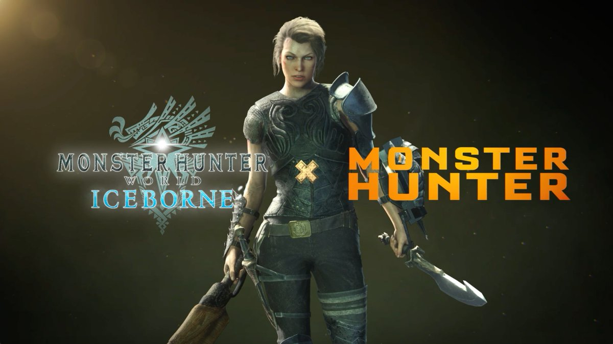 Travel to the New World and play as @Monster_Hunter protagonist Artemis (voiced by @MillaJovovich)! #MonsterHunterMovie x #Iceborne crossover is available now! https://t.co/e9CJmAMZNd https://t.co/HOrEasz5k3