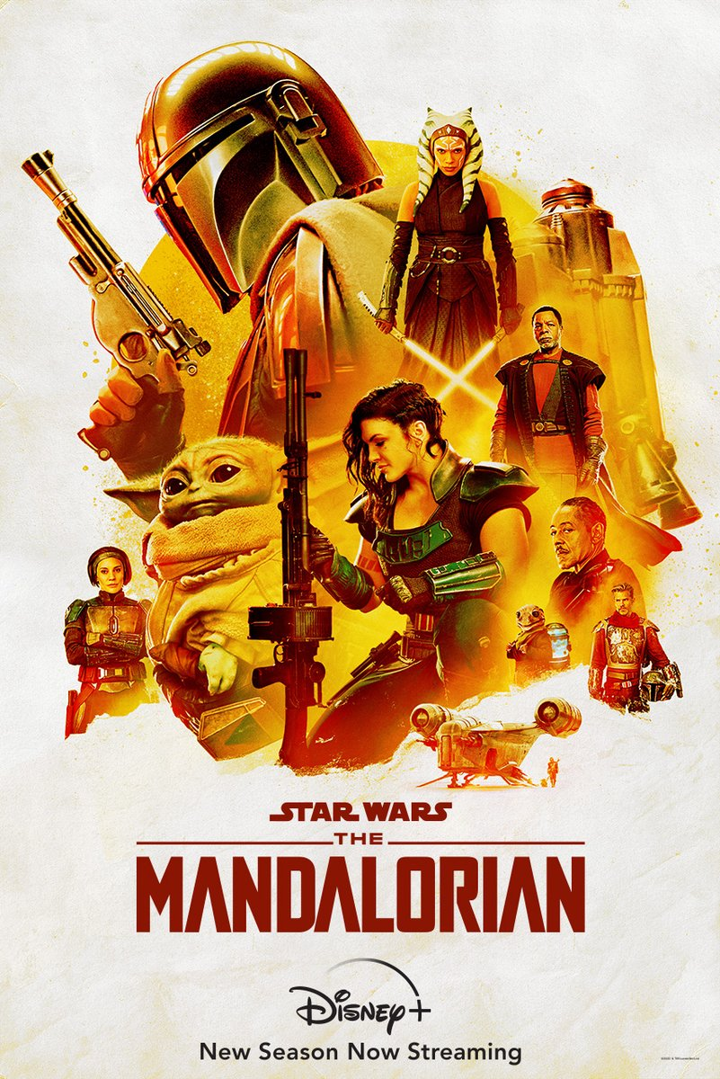 Replying to @starwars: This is the way. The new season of #TheMandalorian is now streaming on #DisneyPlus.