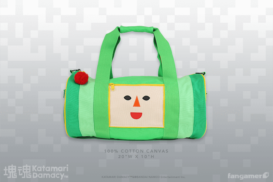 The Katamari Damacy The Prince Duffel Bag is on sale for $28 at Fangamer. 2