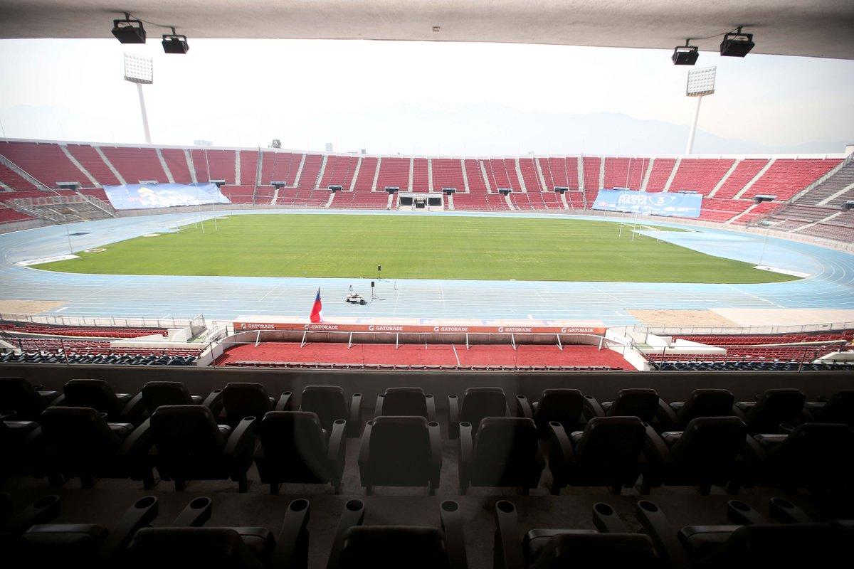 🇨🇱 Feliz aniversario querido Estadio Nacional‼🎂   ⚽ Desde el 3 de diciembre de 1938, hogar del fútbol y deporte chileno. 🏟  📸 Carlos Parra   Comunicaciones ANFP  #Chile #EstadioNacional #FútbolChileno