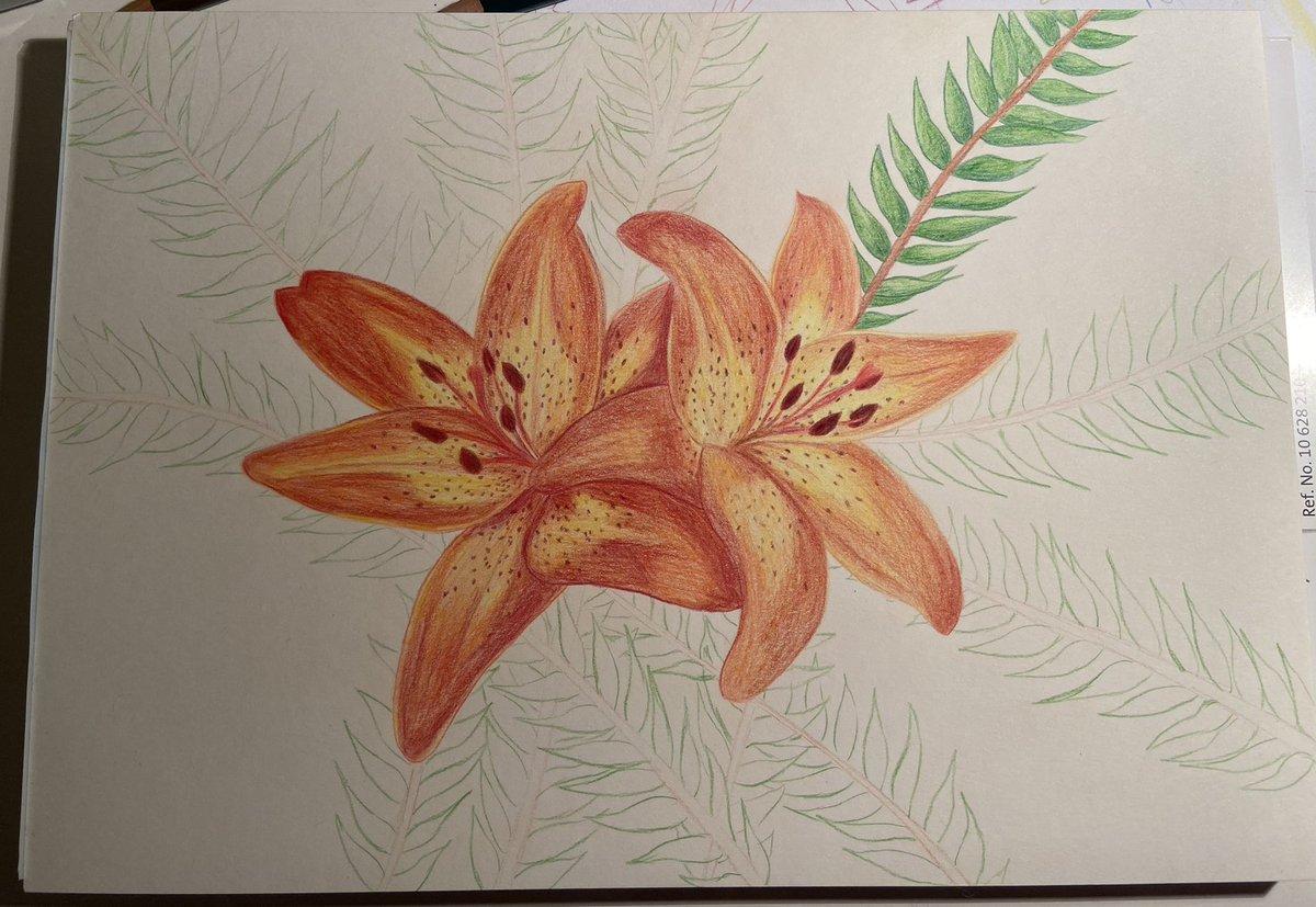 Little work in progress #art #flowers https://t.co/PYAwbjAYY7