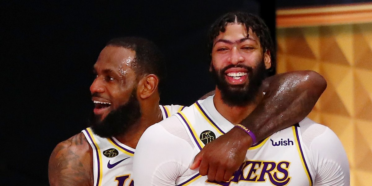They ❤️ L.A.  Anthony Davis gets five-year, $190M deal | @billoram  https://t.co/ypwILyTjSt  Perfect timing on LeBron's Lakers extension | @billoram https://t.co/9AlrG6Ma79 https://t.co/C9h8IyTSNC