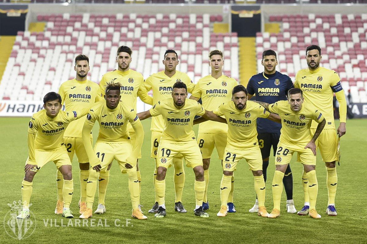 #UEL | El #Villarreal jugó con tres argentinos en su parcela defensiva 🇦🇷.  🧤 @gerorulli   🛡 @funesmoriofi25   🛡 @JuanMFoyth   ¡Portería a cero y victoria!