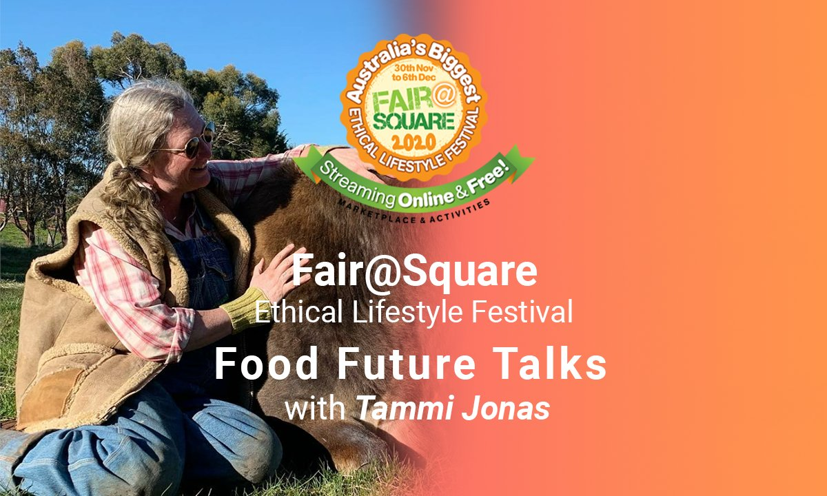 Tammi Jonas is one of Australia's most respected Food Justice advocates chekc out interview at 9:30am moralfairground.com.au/fairsquare-202… @MelbourneChefs @FairFoodNow #sustainability #foodsecurity