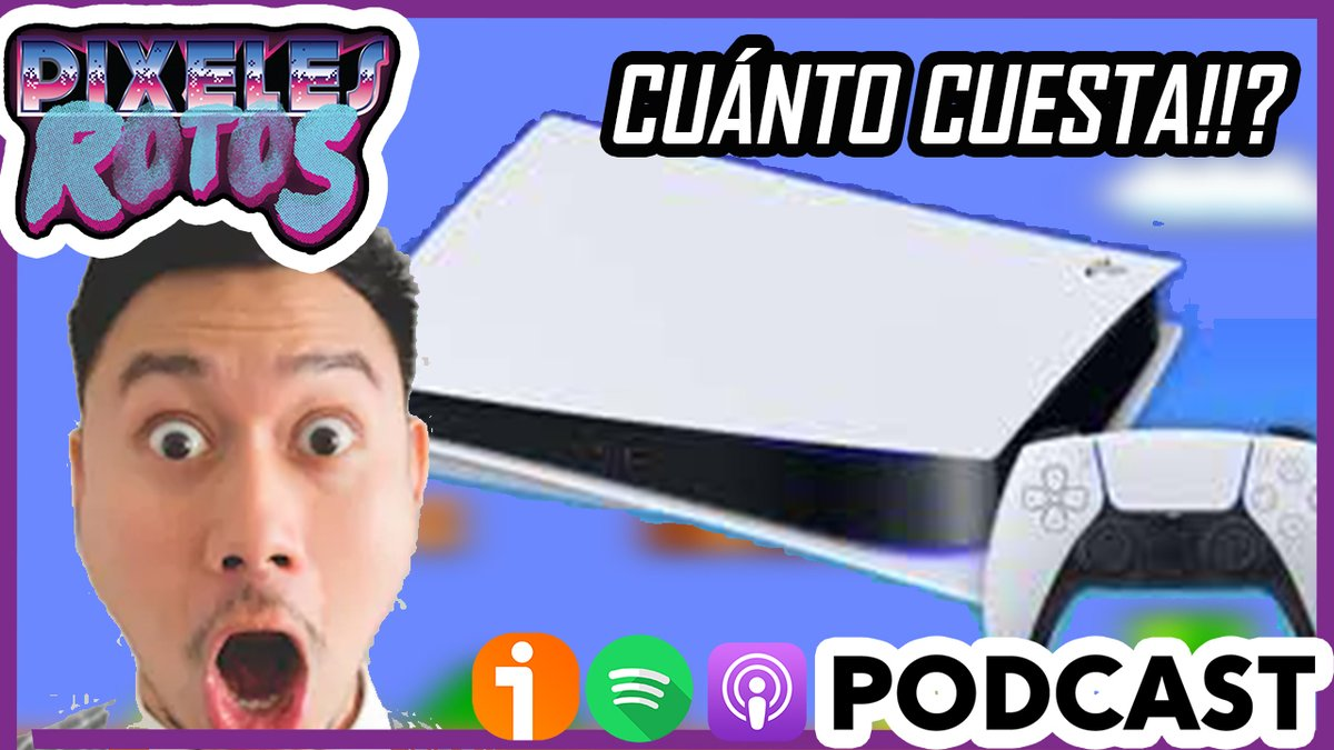 🚨NUEVO PODCAST🚨  Hoy hablamos con nuestro PATREON Esteban Meneses como parte de sus recompensas!  Hablamos desde el Atari 2600,Prince of Persia, Final Fantasy, nuestros GOTY y el RÍDICULO precio del PS5 en Colombia.  Descárgalo!   Ivoox: https://t.co/p0u6yLrFzv Itunes/Spotify https://t.co/Py2Jx5IXxC