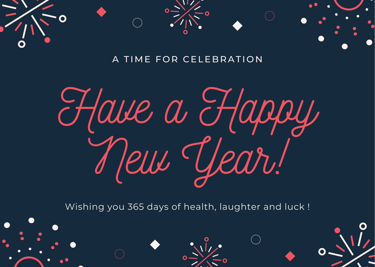 🎉 May the coming year be filled with blessings! 🎊 - From all of us at Polio Australia