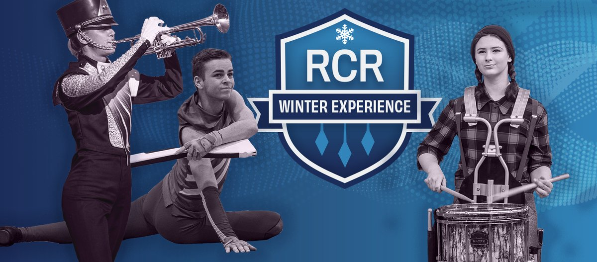 "River City Rhythm is proud to announce the ""RCR Winter Experience:"" an educational and performance experience for brass, percussion and colorguard performers.   https://t.co/wij1BDRnko https://t.co/3UQsE0XK2R"