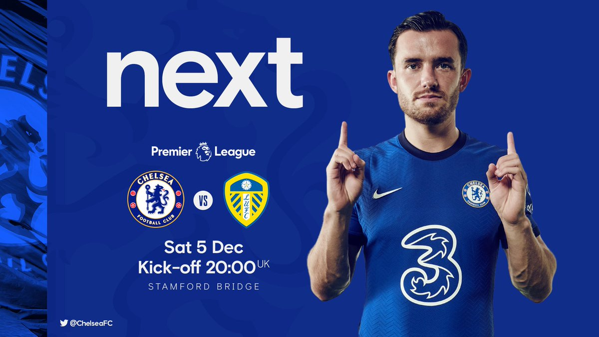 Up next: Leeds at home! 💪  #CHELEE
