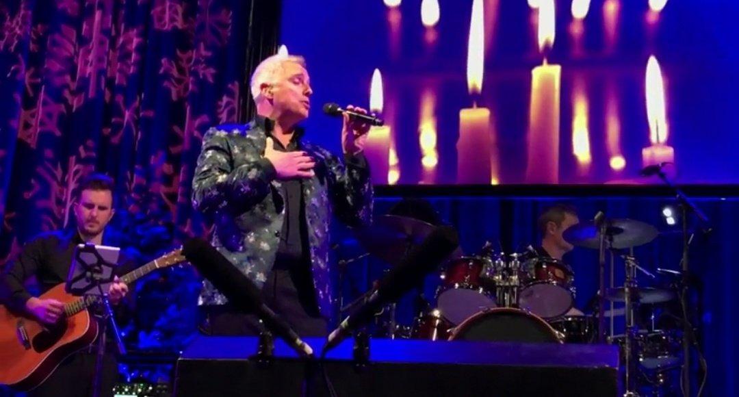 "John Barrowman singing ""Be Thou My Vision"" (Live from John Barrowman's Fabulous Christmas Tour) #JohnBarrowman #BeThouMyVision #FabulousChristmasTour #Live #Concert"