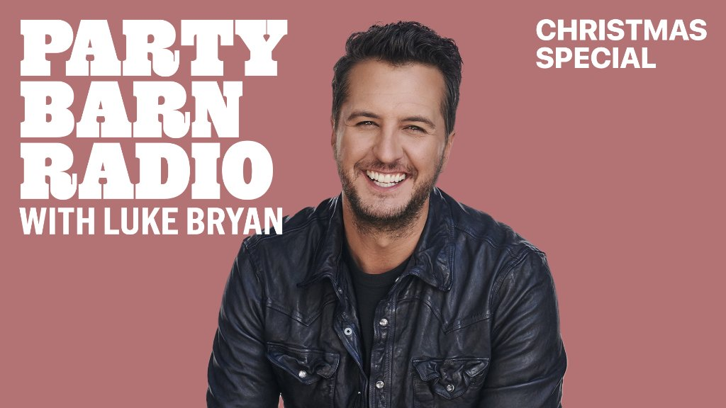 .@LukeBryanOnline is back with a special Christmas edition of #PartyBarnRadio.  Listen now for free on Apple Music Country or anytime with a subscription: