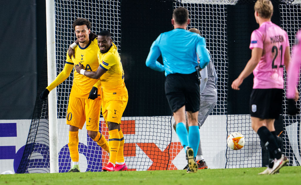 2⃣ penalties 6⃣ goals  Spurs have reached the knockout stages of the #UEL after a dramatic draw against LASK.  Read:   #THFC #bbcfootball