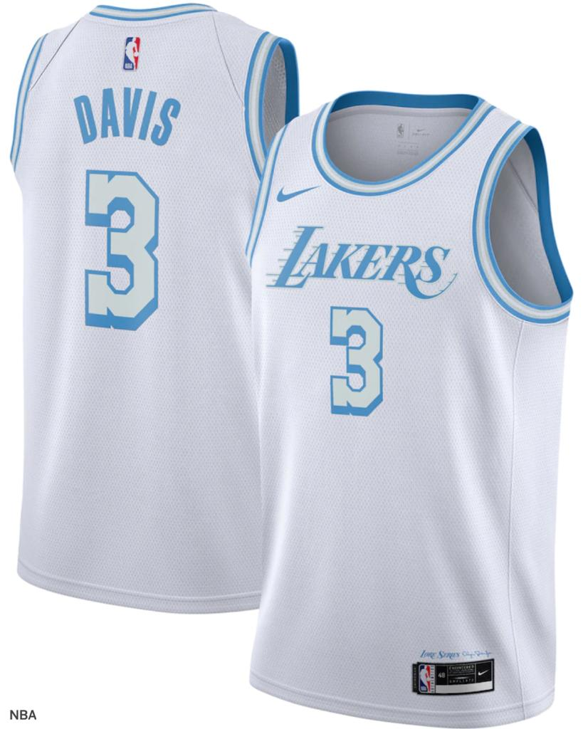 A look at the new Lakers jerseys, dedicated to Elgin Baylor 👀 (via @NBA)