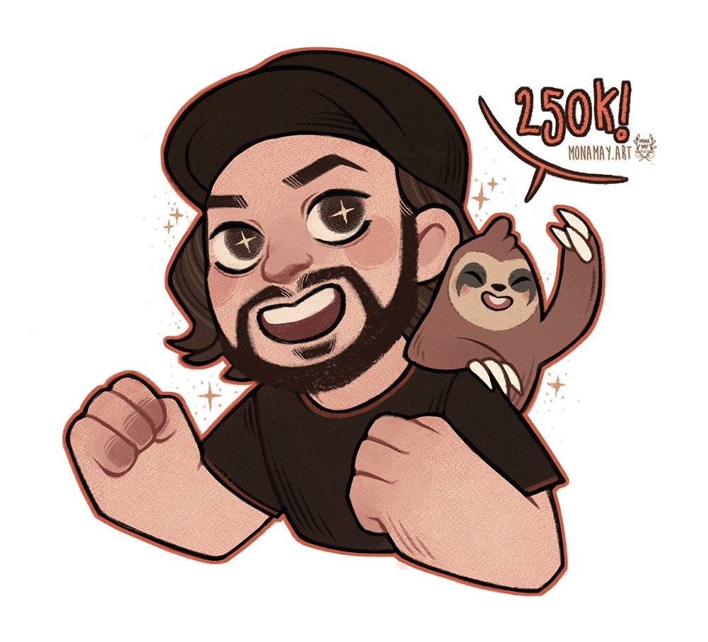 Tomographic - What better time to thank you all for 250k subs on YouTube! The incredibly talented @antlerclad made this amazing fan art for me... I love it so much!