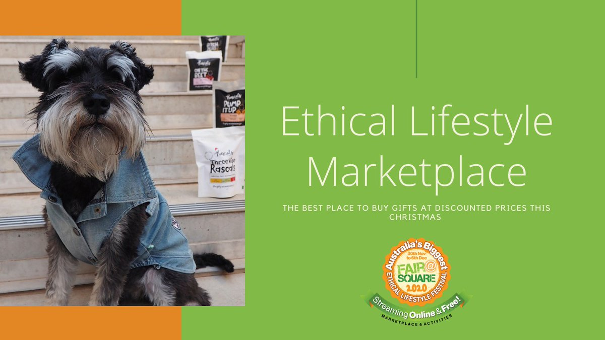 We have not forgotten our four legged friends this Christmas. Check out Rascal Dog Treats Australian made healthy and vegan dog treats moralfairground.com.au/ethical-lifest… #fairatsquare2020 #sustainableliving #vegan #vegandogs #pets #veganpet #ethicallymade #christmasgifts2020 #petchirstmas