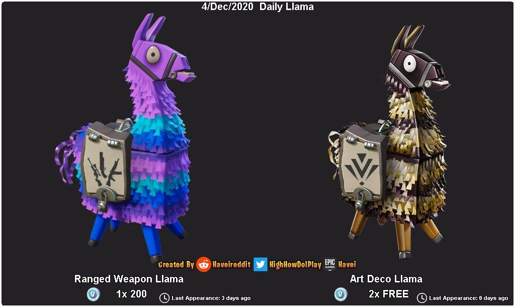 The #Fortnite #SaveTheWorld Llama Shop has rotated! New Llama(s):