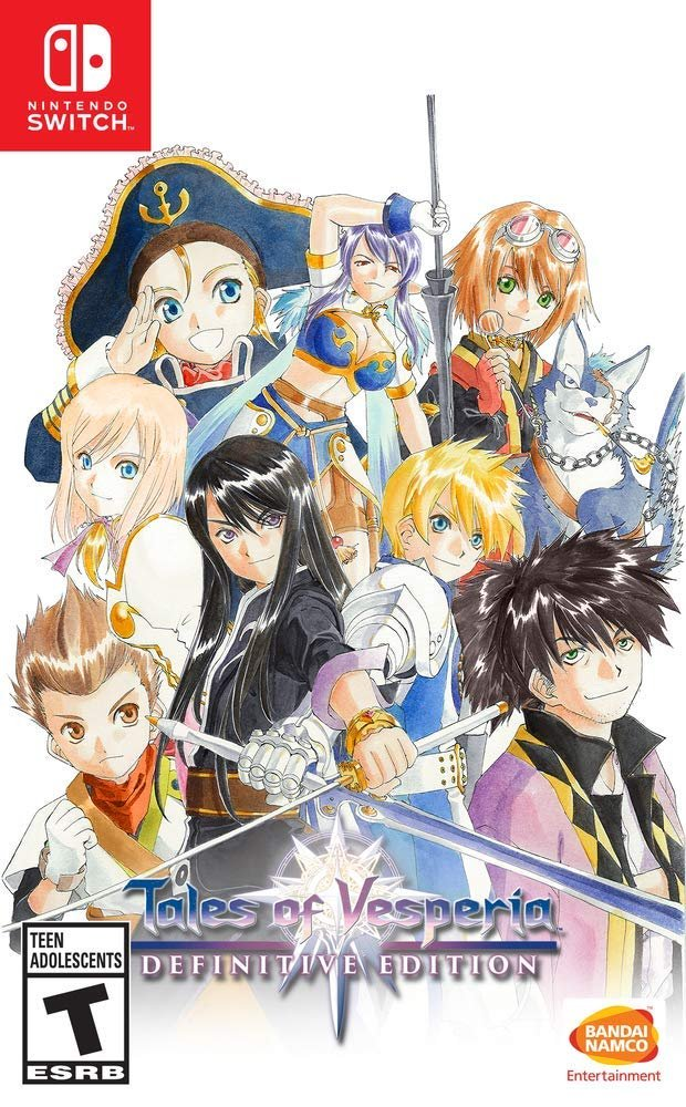 Tales of Vesperia - Definitive Edition (Switch) is 20% off on Amazon: 2 $31.98